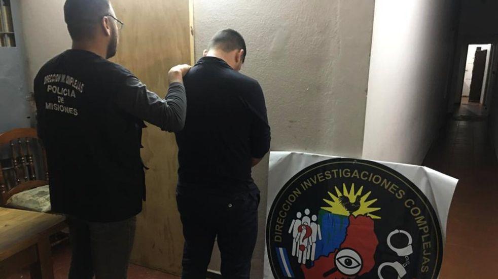 Un individuo terminó detenido por estafa en Posadas.