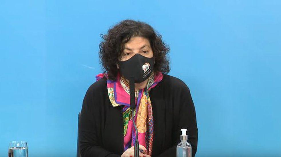 """Carla Vizzotti advirtió que el sistema de salud """"tiene semanas muy difíciles por delante"""""""