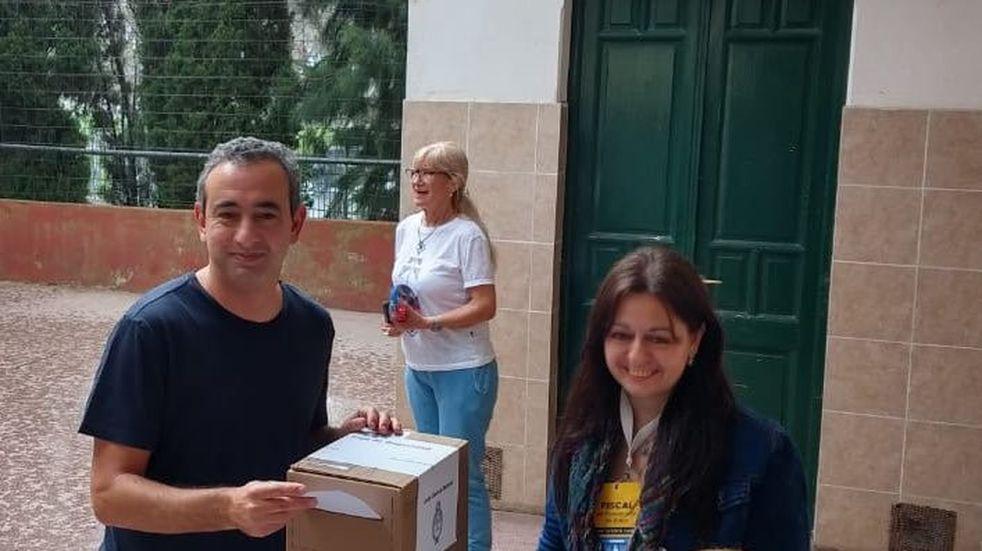 Javkin votó y pidió que esta sea la última elección con boleta sábana