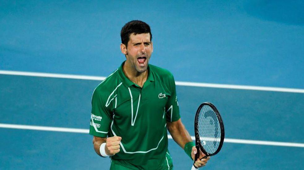 Australian Open: Novak Djokovic derrotó a Roger Federer y jugará su octava final en el torneo