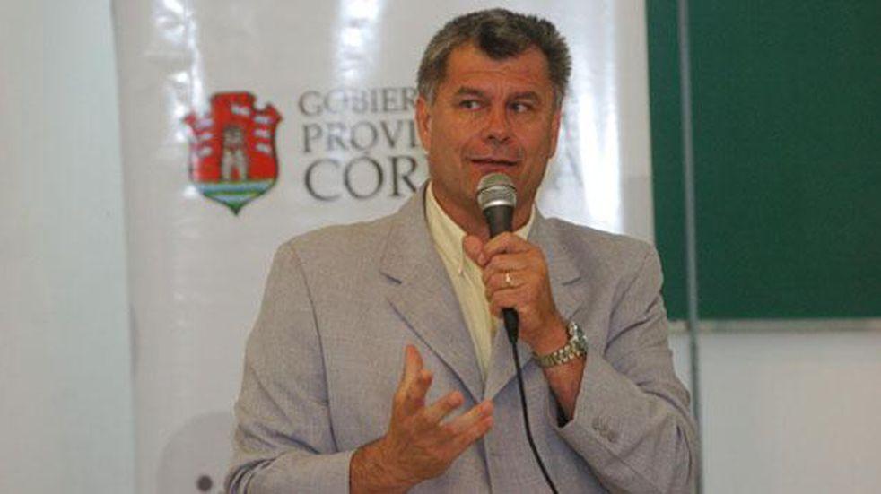 Medardo Ligorria, subsecretario de Deportes de la Municipalidad, impulsó una reunión entre directivos de Talleres y la Liga para acercar las partes (archivo La Voz).