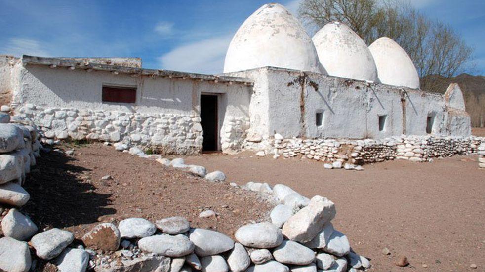 Bóvedas de Uspallata, el lugar elegido por el Ejército de Los Andes para hospedarse