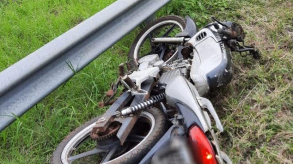Accidente fatal en Panambí: falleció un motociclista