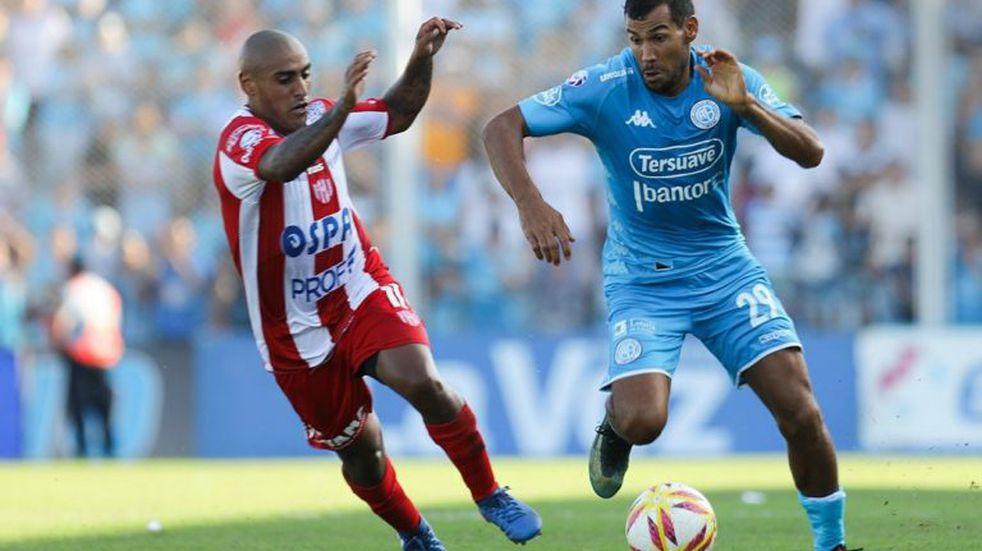 Los concentrados de Belgrano para Racing, sin el Mono Quiroga