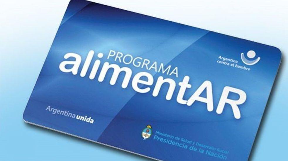 Tarjeta AlimentAr en el Banco Nación