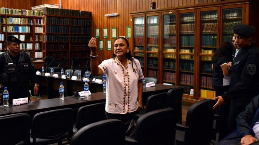Milagro Sala cuestionó a la Corte Suprema de Justicia de la Nación