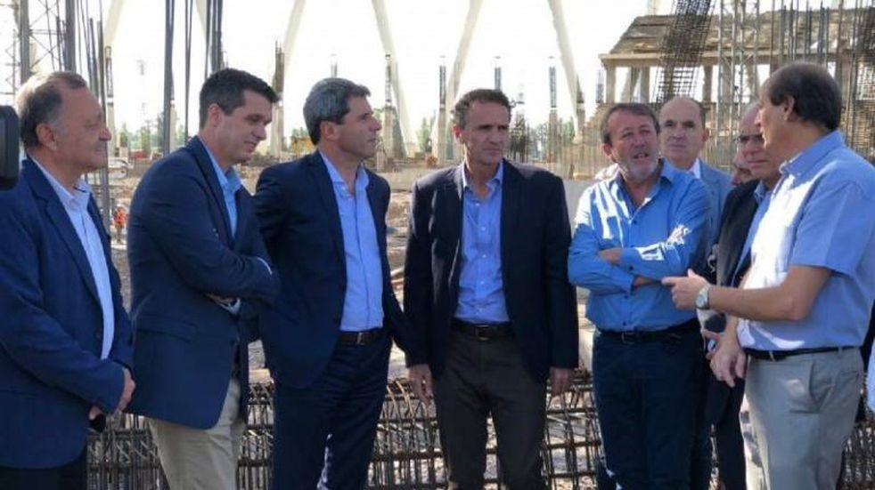 Gabriel Katopodis visitó San Juan y dijo que reactivará las obras paradas
