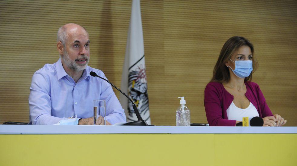 """Horacio Rodríguez Larreta: """"Haremos lo posible para que continúen las clases"""""""