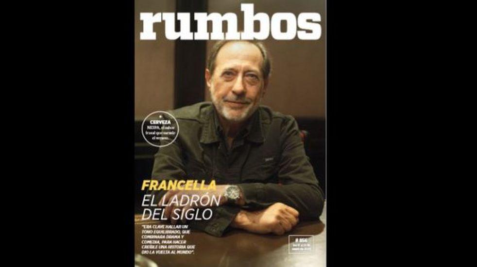 Esta semana en Rumbos #856: Guillermo Francella y una nueva película que dará mucho de que hablar