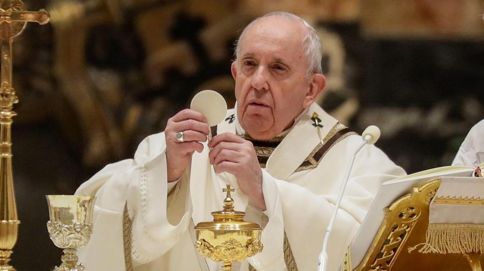 El Papa Francisco oficia la misa de Jueves Santo y no estará en la Última Cena