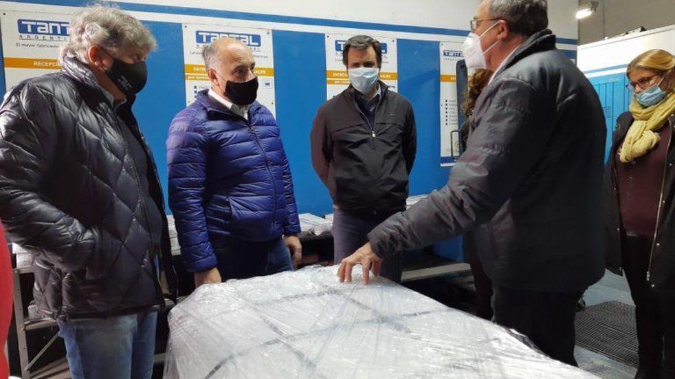 Acastello visitó las localidades de Santa Rosa y Villa General Belgrano