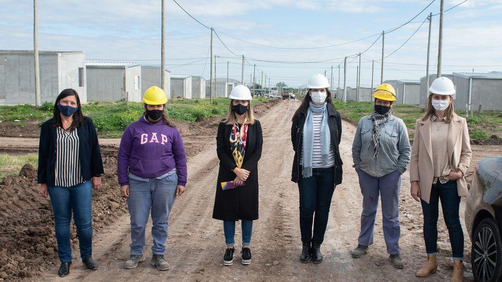 Entre Ríos promueve  la incorporación de mujeres al ámbito de la construcción