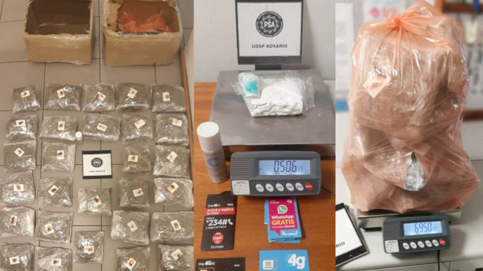 Detectaron paquetes con droga enviados por Correo Argentino desde Resistencia