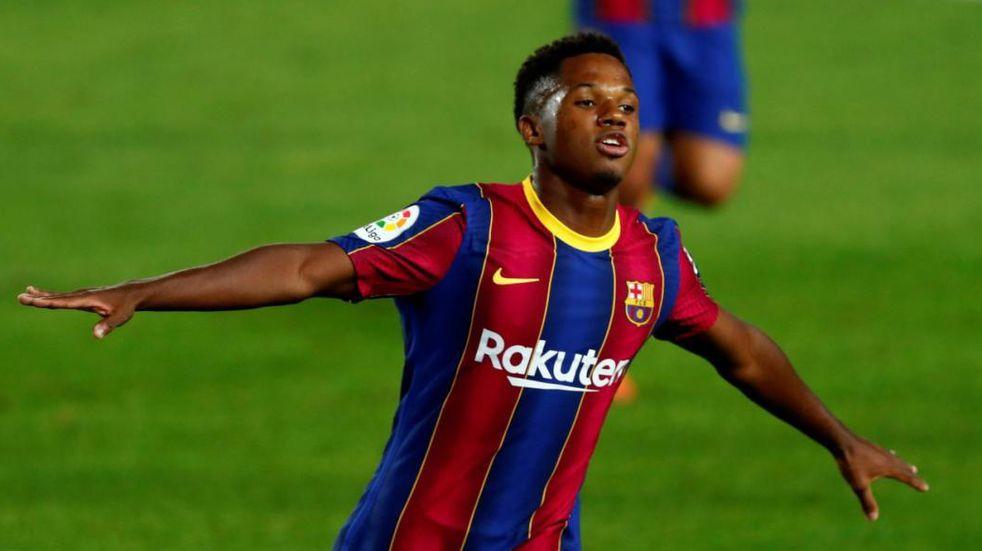 Ansu Fati, el heredero de la 10 de Lionel Messi en Barcelona