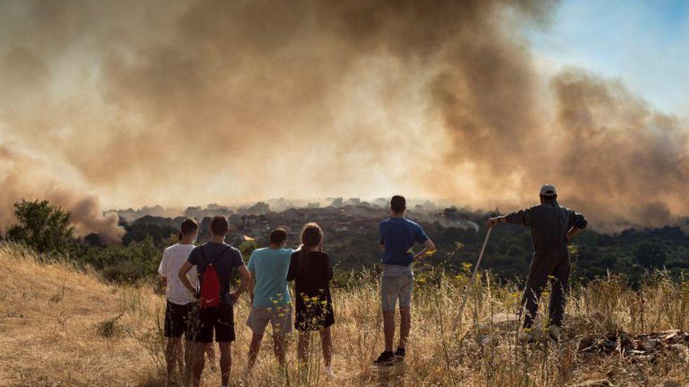 Incendios forestales: el riesgo es muy alto