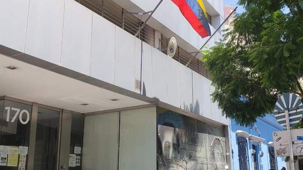 Embajada Venezuela en Argentina.