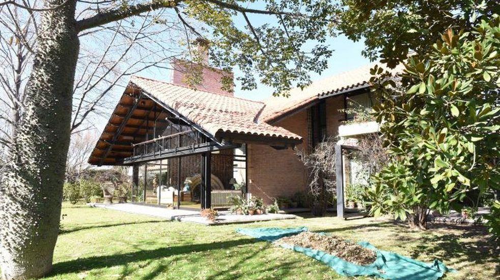 Así es la casa que Pescarmona le donó al Gobierno para residencia oficial
