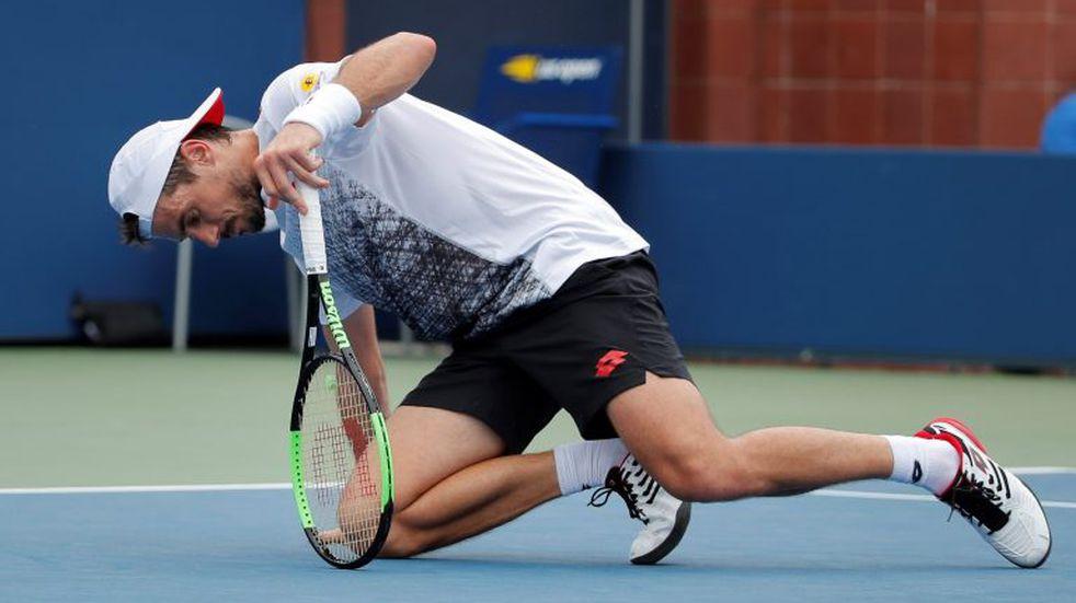 Guido Pella perdió ante Basilashviliy se despidió del US Open