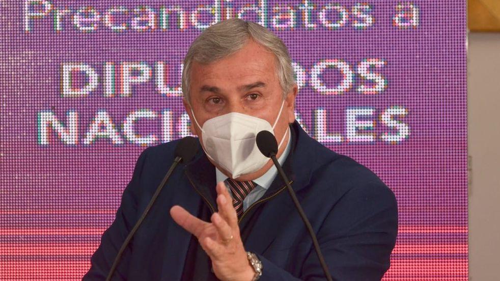 """""""Al Gobierno del Frente de Todos"""" hay que """"ponerle límites"""", dice Morales"""