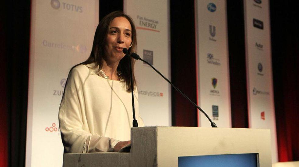 """Según María Eugenia Vidal, las próximas PASO """"son un plebiscito sobre el Gobierno nacional"""""""