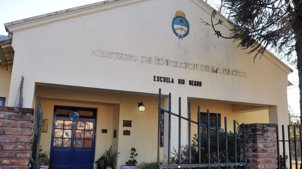 Obras en la escuela Río Negro