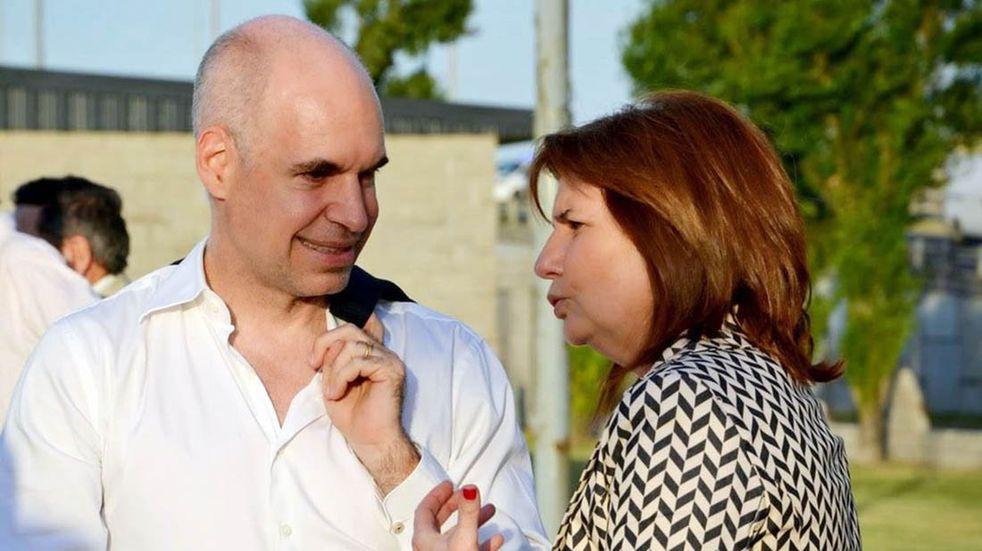 Larreta y Bullrich y una reunión para limar asperezas por las candidaturas
