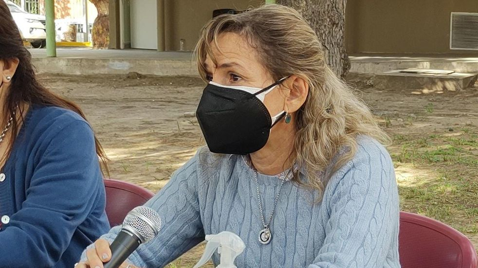"""Claudia Palladino: """"Los nodos de vacunación están avanzando muy rápido"""""""