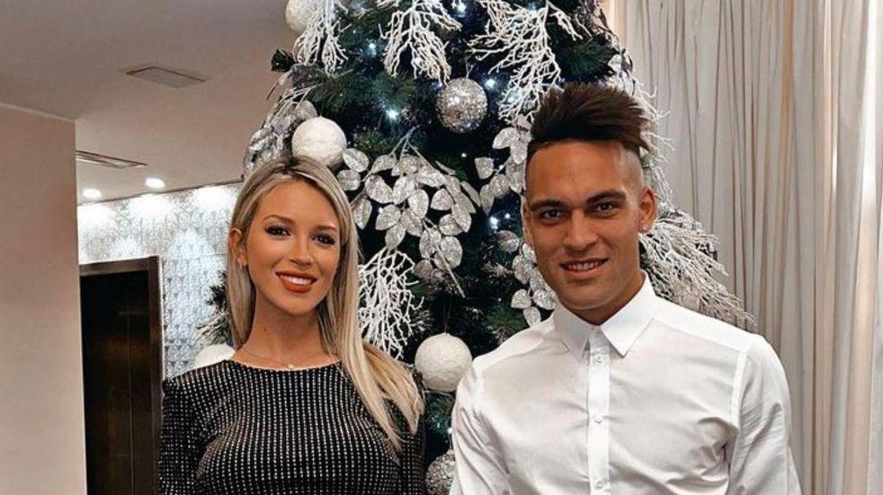 La Navidad de Agustina Gandolfo y Lautaro Martínez, embarazados de Nina
