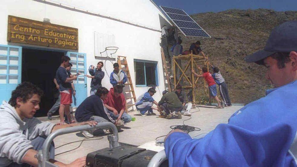 Traslasierra cuenta con el programa de acceso a la energía