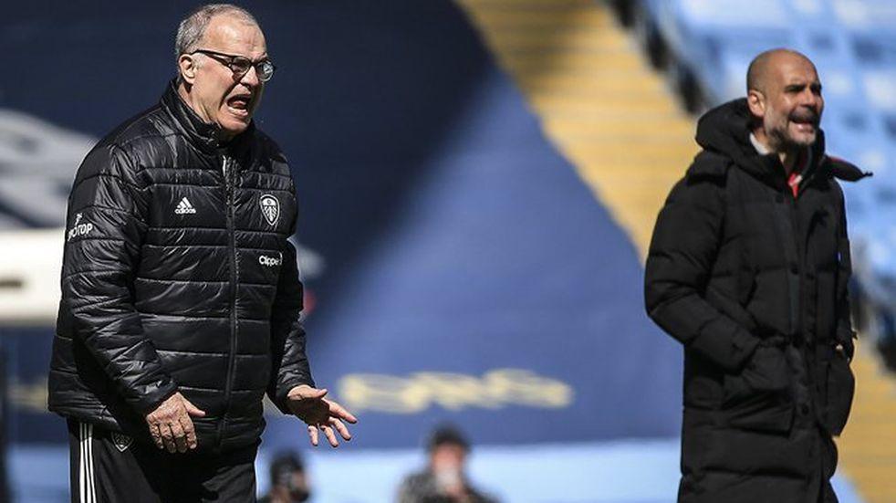 Triunfazo del Leeds de Bielsa ante el City de Guardiola por 2 a 1
