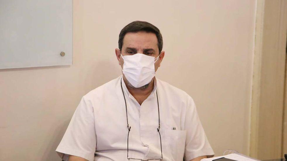 """Medina Ruíz: """"Hemos bajado la cantidad de casos pero aún estamos en una meseta alta"""""""