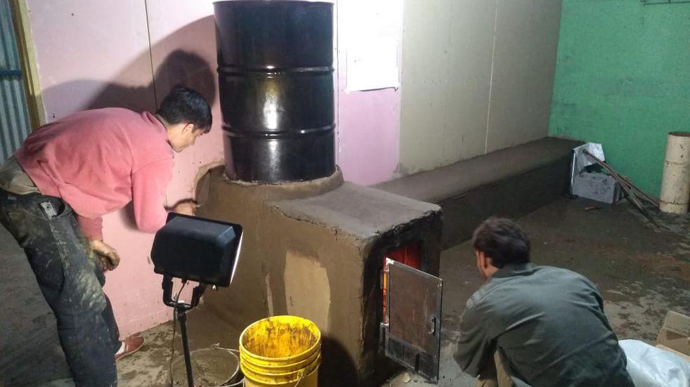 Trabajos de mejoras en la Planta de Separación de Residuos de Bellocq