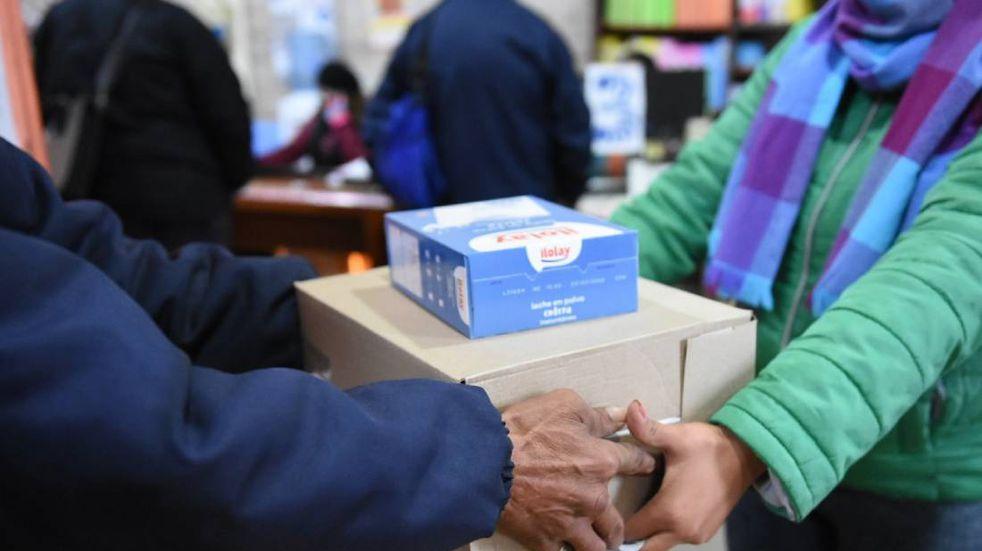 ¿Cuándo entrega la municipalidad los bolsones alimentarios?