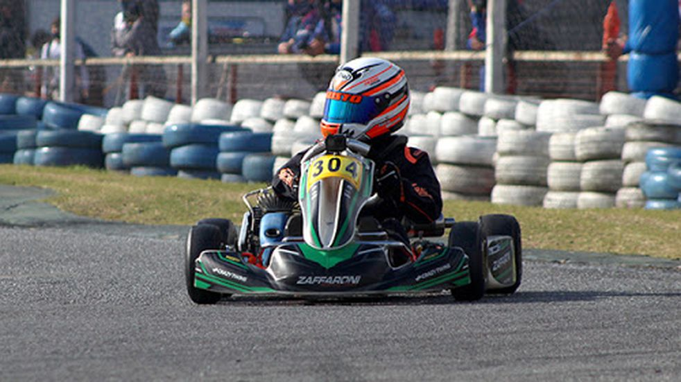 Fausto Arnaudo ganó la tercera fecha de la IAME Series Argentina en el kartódromo de buenos aires.
