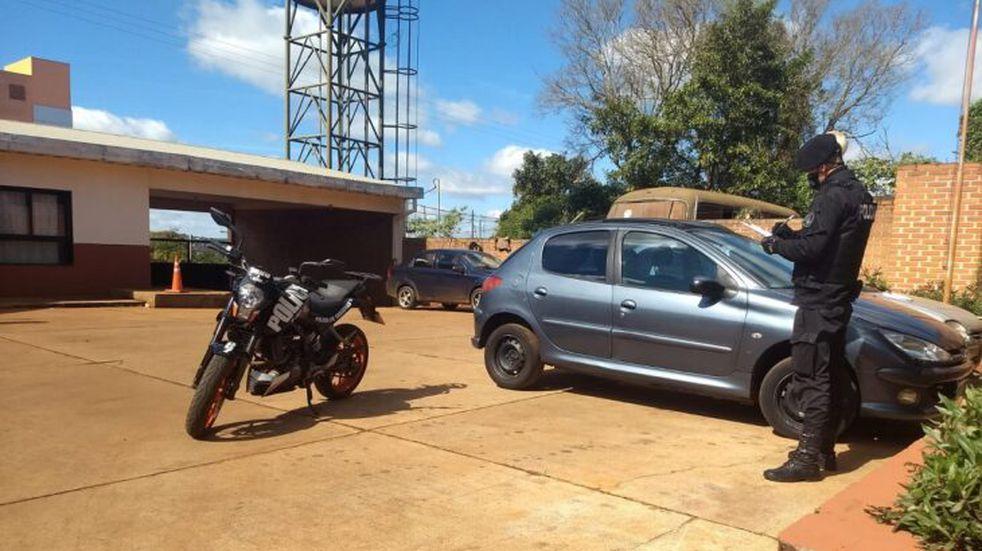 Cuatro vehículos de Buenos Aires recuperados en los últimos días en Oberá