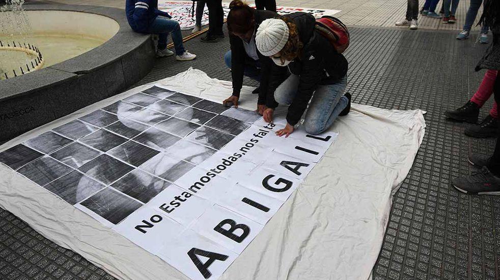 A cinco meses de la desaparición de Abigail convocan a una nueva marcha para que la búsqueda continúe