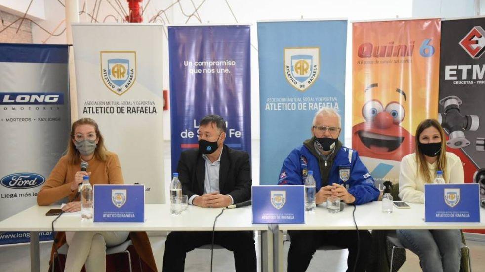 Se presentó oficialmente la carrera de TC en Rafaela