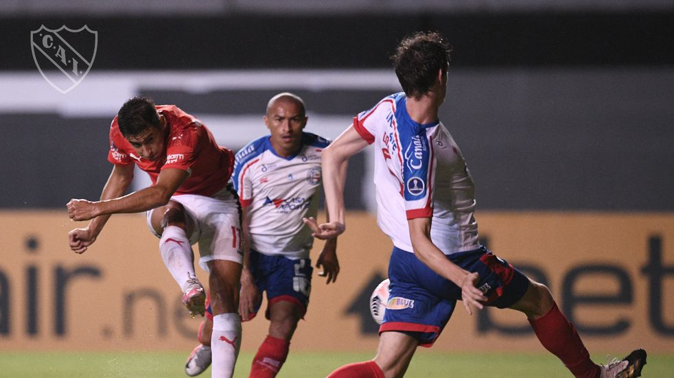 Copa Sudamericana: Independiente rescató un empate en Brasil después del escándalo del aeropuerto