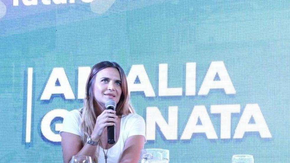 """Amalia Granata reaccionó contra la marcha de """"Ni Una Menos"""" por Agustina"""