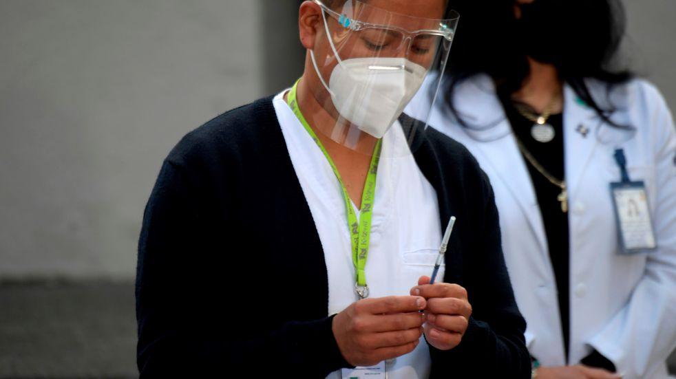 Avanza la vacunación contra el coronavirus en México.