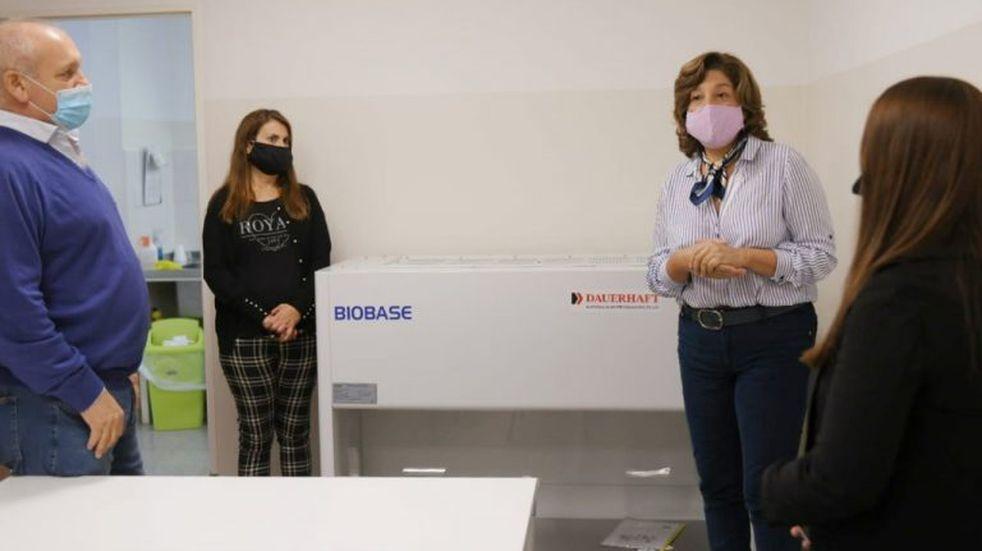 Habilitaron el hospital de Roca para realizar tests de coronavirus