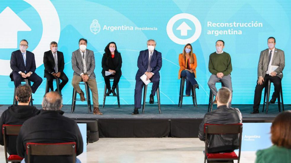 Alberto Fernández lanzó un plan para promover la industria de contenidos audiovisuales