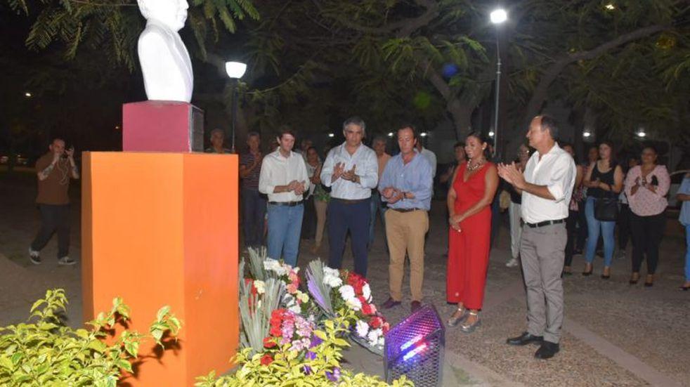 Recordaron a Raul Alfonsín a 36 años de la vuelta a la democracia