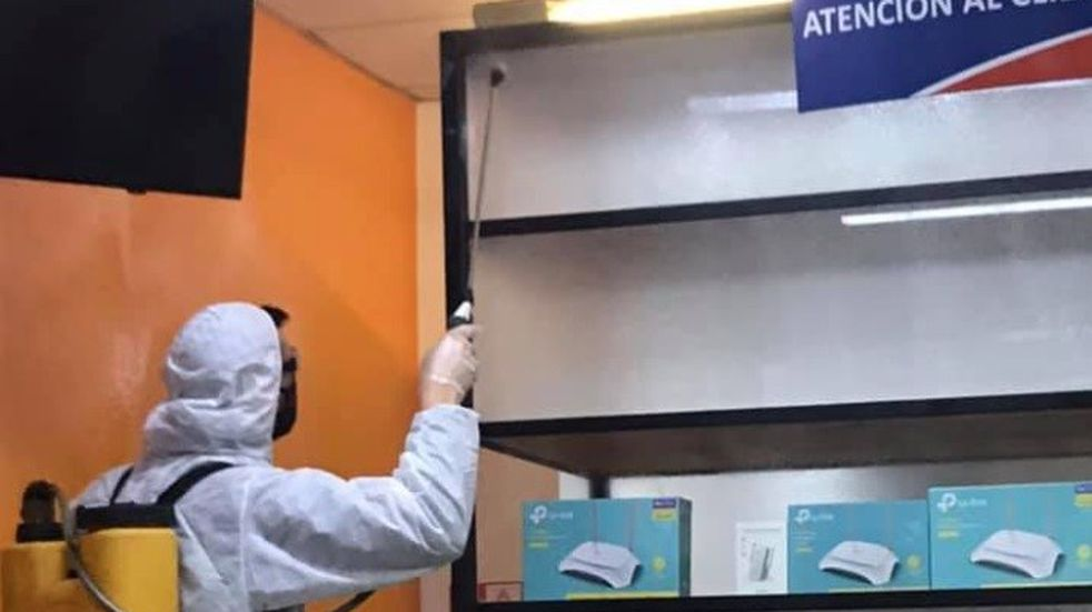 Coronavirus: son seis los empleados los contagiados en la empresa de Internet de Luján de Cuyo