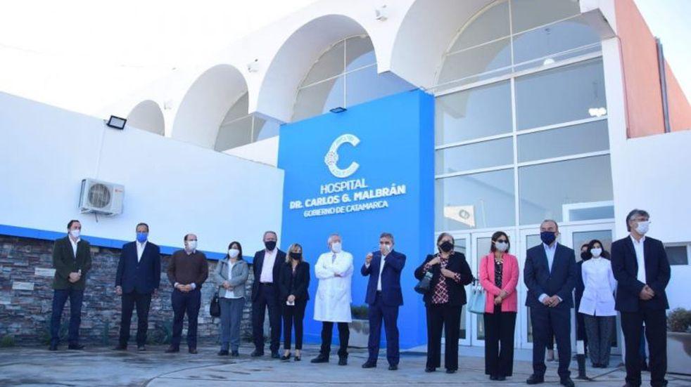 Inauguraron el hospital monovalente Carlos Malbrán en Catamarca