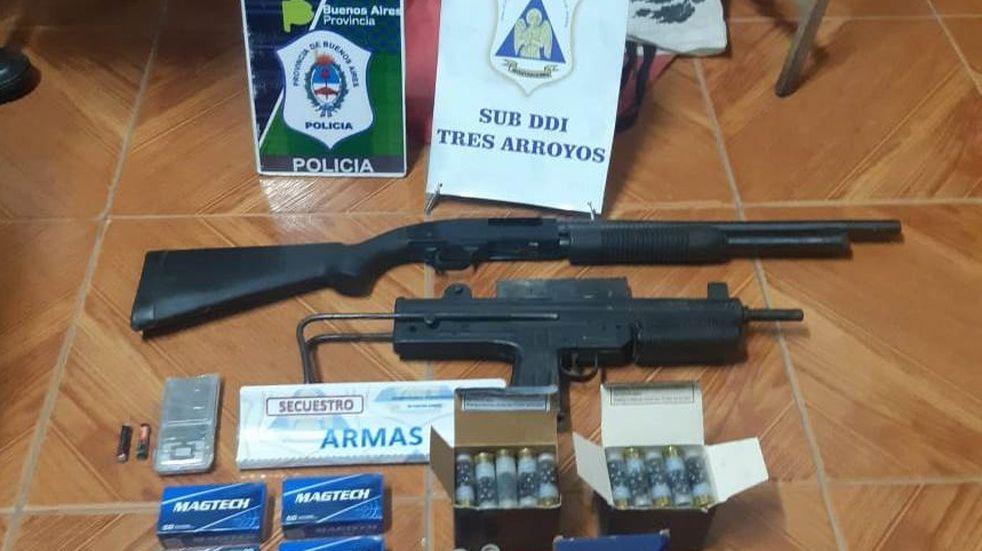 Robo a la policía: recuperaron las armas faltanes y hay un detenido