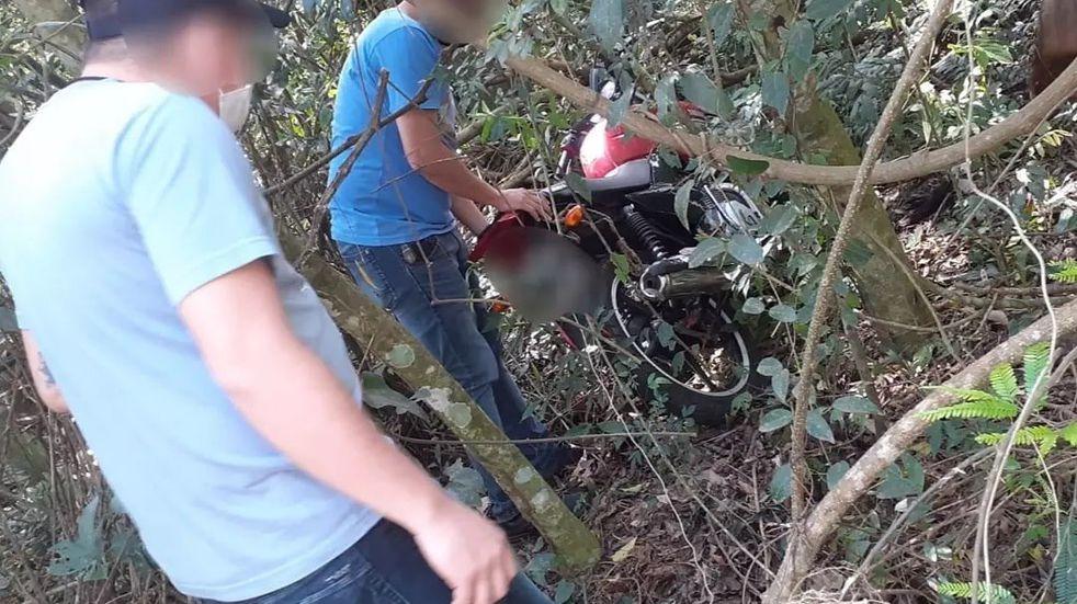 Montecarlo: Recuperaron una motocicleta robada a un moto-delivery