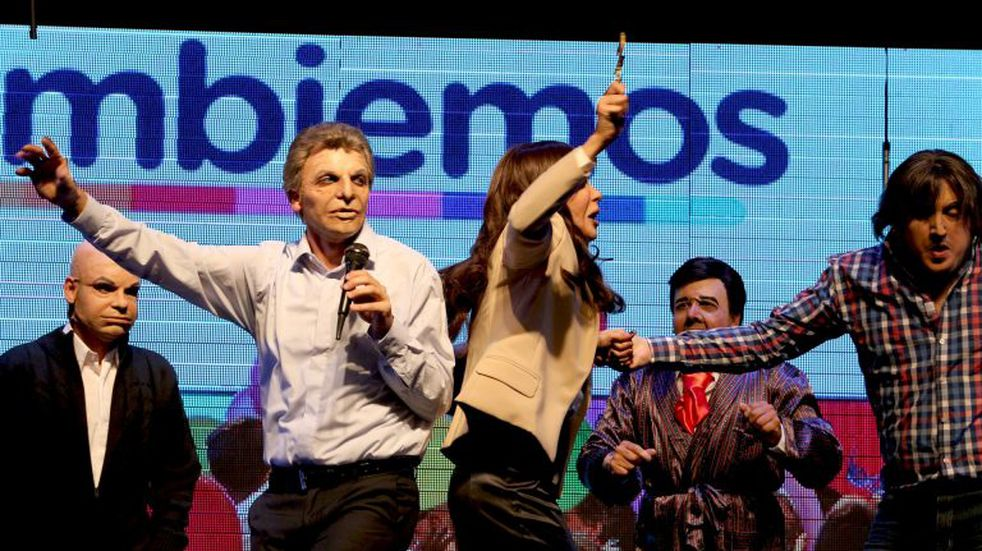 Macri y Cristina juntos por primera vez en Carlos Paz