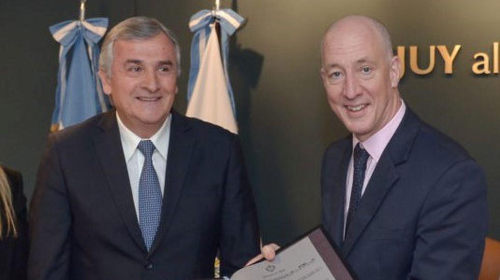Jujuy y el Reino Unido pusieron cuatro temas centrales en agenda