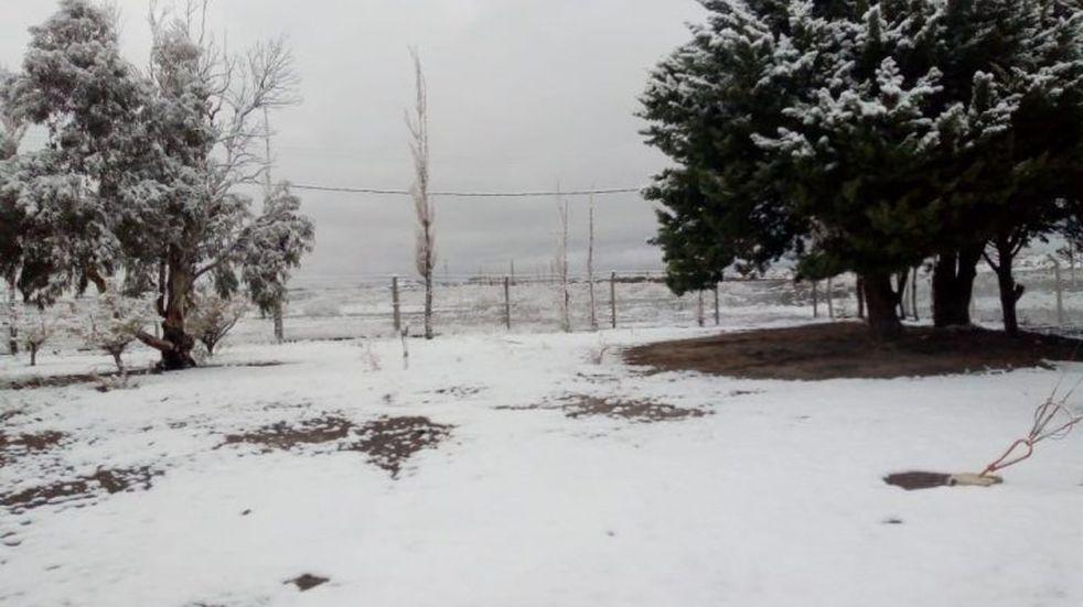 Nevó en San Juan